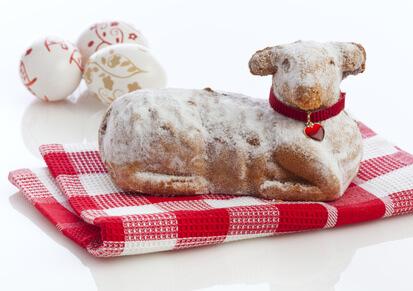 Gâteau agneau de pâques
