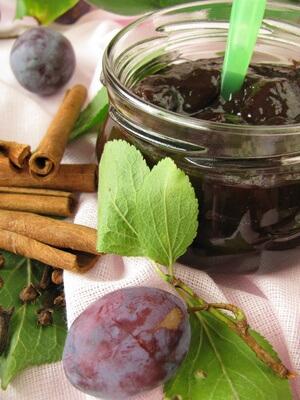 Compote de prunes du Poitou