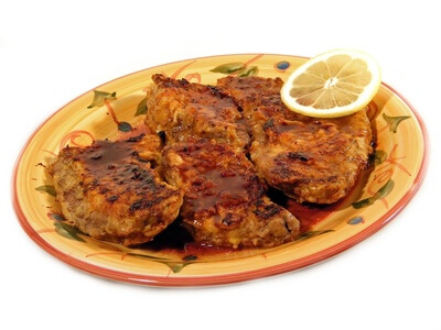 Escalopes de veau farcies
