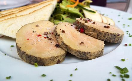 Foie gras d'oie à la périgourdine