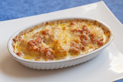 Gratin de tomates au fromage