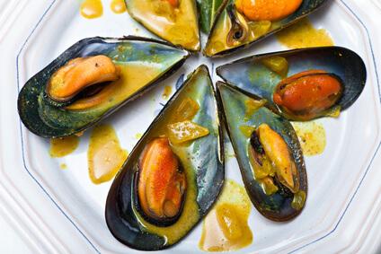 Moules aux épices