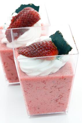 Mousse aux fraises d'Anjou
