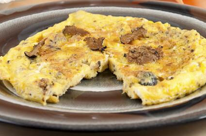 Omelette aux truffes