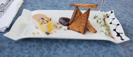 Pain d'épice au foie gras