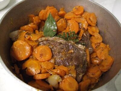 Paleron aux carottes
