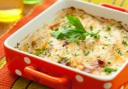 Parmentier de veau aux patates douces