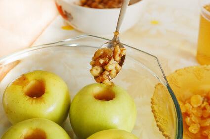 Pommes au miel au four
