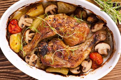 Ragoût de légumes et poulet