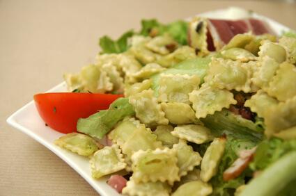 Tartre ravioles épinards