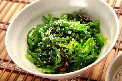 Salade aux algues