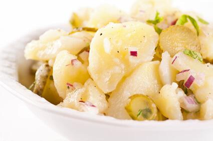 Salade de gruyère aux pommes de terre