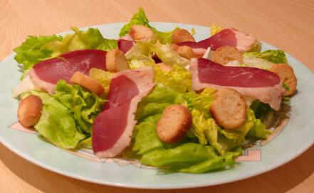 Salade des landes