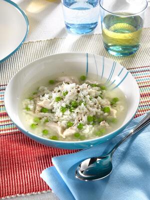 Soupe de céleri au riz