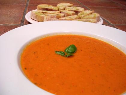 Soupe de potiron et Châtaignes