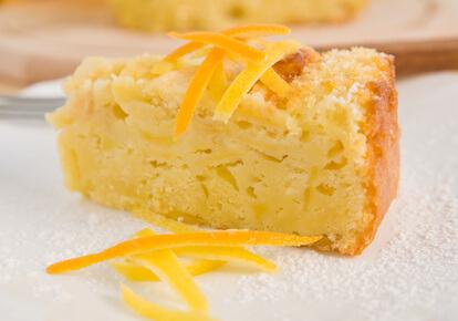 Tarte aux pommes râpées et citrons